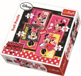 4 in 1 - Minnie Mouse Puzzel