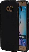 Samsung Galaxy S6 Hoesje TPU Hoesje Backcover Zwart