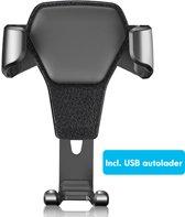 Universele telefoonhouder auto – PRO 2.0 – Nu incl. USB autolader