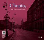 Gabriel, Elfrun & Paolo Giacometti, - Chopin; Piano Concertos, Preludes