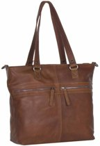 CHESTERFIELD JULIUS LARGE SHOPPER C38.013631COGNAC