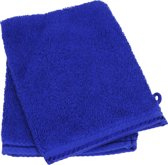ARTG Towelzz® Washandje 100% Katoen - Koningsblauw - (Set 10 stuks)