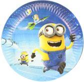 10 stuks Minions papieren bordjes - feestbordjes - gebaks borden