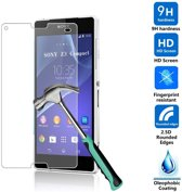 Sony Xperia Z3 Compact glazen Screenprotector Tempered Glass  (0.3mm)