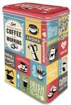 Bewaarblik - Coffee Collage