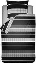 Pierre Cardin Dekbedovertrek Elegant 140x200/221cm - Gemengd katoen - Grijs