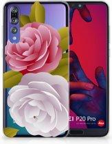 Huawei P20 Pro Uniek TPU Hoesje Roses