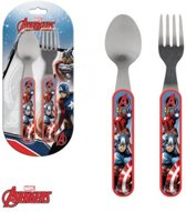 Disney Marvel Avengers Bestek set - Metaal\Kunststof