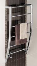 Eastbrook Biava corinium chroom badkamer radiator 1200 x 500