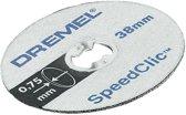 Dremel EZ SpeedClic: dunne snijschijven 5-pack. - SC409