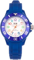 Ice-Watch Ice-Mini - Horloge - Rubber - 30 mm - Blauw