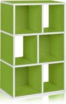 way Basics Laguna - Boekenkast - groen