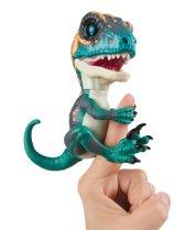 WowWee Untamed Baby Raptor Fury - blauwe dino