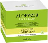 Aloenatura, Aloë Vera 24uurs gezichtcrème 50ml