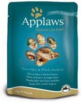 Applaws cat pouch tuna / anchovy kattenvoer 70 gr