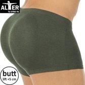 Alter Padded Butt Slip - Zwart - Medium