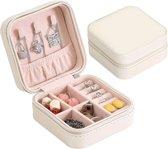 Mini Sieraden Doosje | Reisformaat | Jewelry Box Mini | Lichtgewicht Makkelijk voor in de koffer