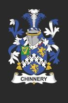 Chinnery: Chinnery Coat of Arms and Family Crest Notebook Journal (6 x 9 - 100 pages)