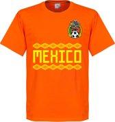 Mexico Keeper Team T-Shirt - Oranje - XS