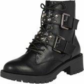 boots Zwart-39