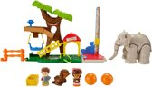 Fisher-Price Little People Grote Dieren Dierentuin - Speelfigurenset