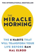 Boek cover The Miracle Morning van Hal Elrod (Onbekend)