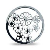 LOCKits 982500535 - Stalen Munt - 25 mm - Zilverkleurig