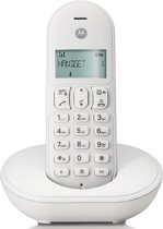 Motorola T101L - Single DECT telefoon - NL - Wit