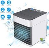 Luchtkoeler, draagbare airconditioner, Purifier 3 in 1 verdampingskoeler, koelventilator voor slaapkamer, reizen, kantoor
