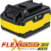 TROTEC Accu Flexpower 20V 4,0 Ah