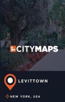 City Maps Levittown New York, USA