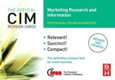CIM Revision Cards Marketing Research and Information