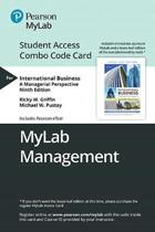 Mylab Management with Pearson Etext -- Combo Access Card -- For International Business