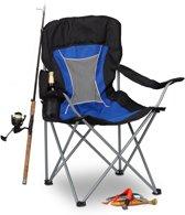 relaxdays - campingstoel opvouwbaar - vouwstoel - klapstoel - bekerhouder stoel