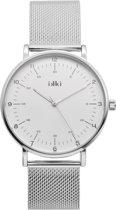 IKKI Kenza Zilverkleurig horloge  - Zilverkleurig