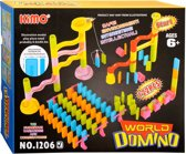 Domino Stenen en Knikkerbaan Set