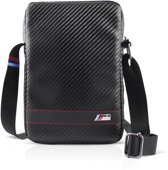 BMW Carbon effect Leather Tablet Bag 9-10 inch