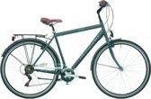 Heren - jongens fiets Excel Central Park mat antraciet, 28 inch, H58, 6 versnellingen