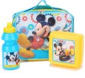 Mickey- lunch set - Feestdecoratievoorwerp - One size