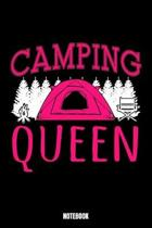 Camping Queen Notebook: Camping Dream Log Book I Dream Journal I Dream Recorder I Diary and Notebook for recording your Dreams I Track your Dr