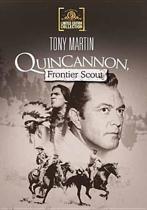 Quincannon, Frontier Scout (1956) (dvd)