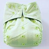 A04 AIO One Size Pocket luier groen