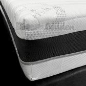 Hilton Matras 90x200 Koudschuim HR50 Micropocketvering 9-zones 3-d Border Cool & Fresh ca. 25cm dik