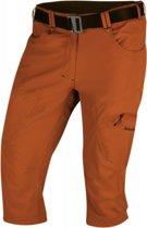 Husky outdoor-wandel 3/4 broek capri Klery M Heren met riem - Oranje - S