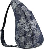 Healthy Back Bag Flower Power Grey Denim S