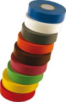 CELP zelfkl tape Premio 235, PVC, geel, (lxb) 20mx19mm, UV-bestendig