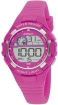 Nowley 8-6241-0-5 digitaal horloge 38 mm 100 meter roze
