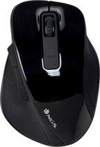 NGS Bow muis - Draadloze muise -  RF Draadloos Optisch 1600 DPI Rechtshandig Zwart