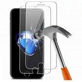 3 stuks bescherm glas glazen screenprotector voor iPhone 7 plus en 8 plus  bescherming voor glas voor iphone 7 plus en 8 plus