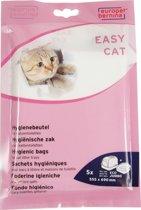 Ebi Easy-Cat - Kattenbakzak - Jumbo U-Vorm - 5 st - 55,5 x 69 cm
